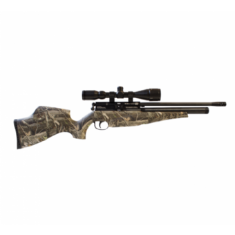 BSA Scorpion SE Multishot PCP Air Rifle - Real Tree Camo